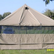 Canvas and Tent