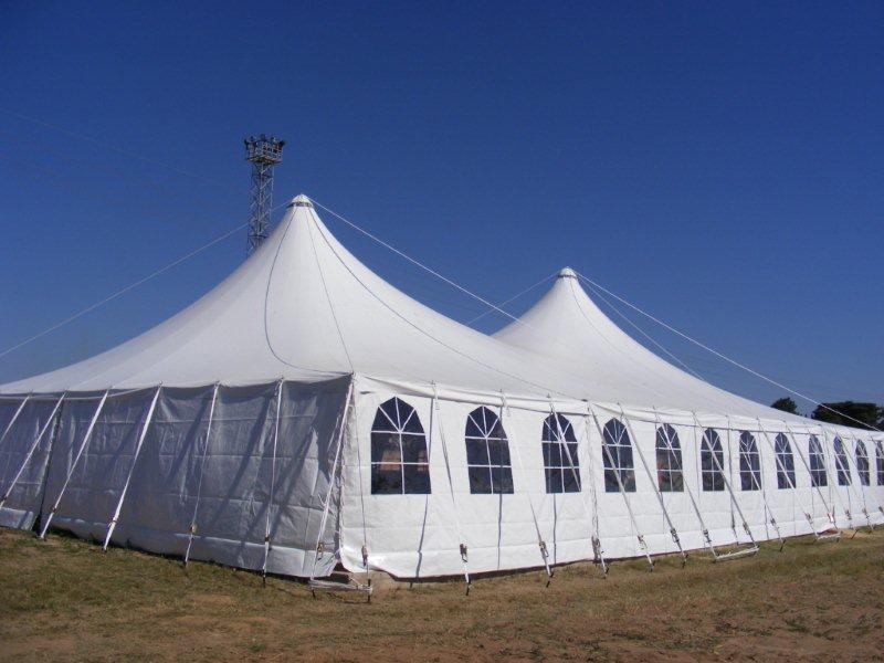 Semi permanent tents semi permanent venue with semi for Semi permanent tent