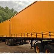 Tautliner Trailer Trucks